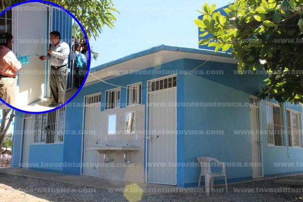 Continua el apoyo al sector educativo en Tantoyuca. Foto: LVDT.