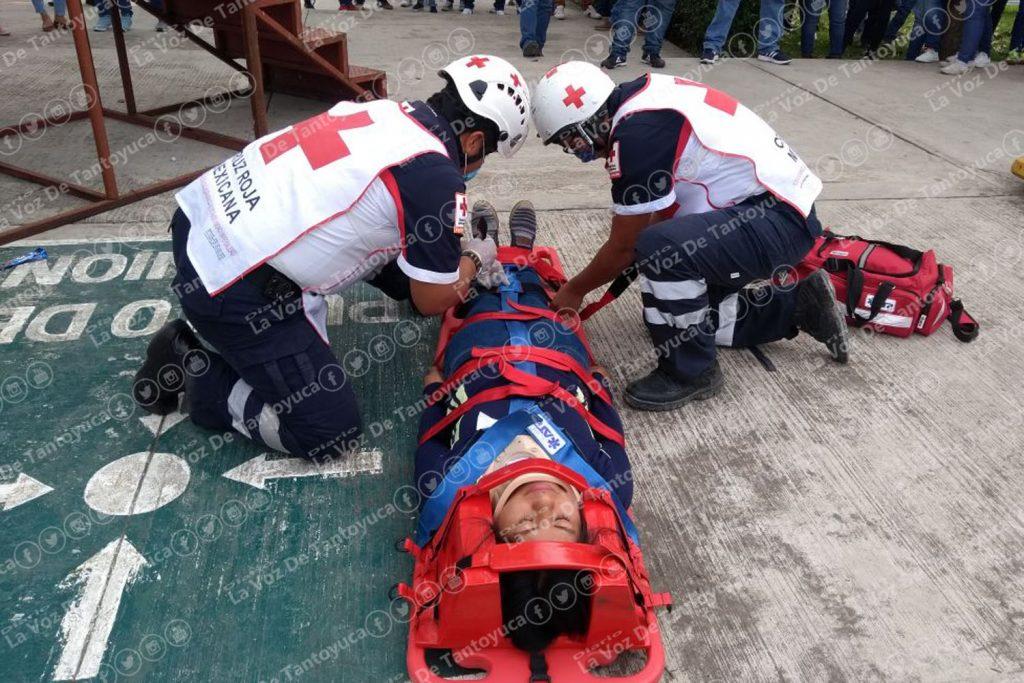 Participa ITSTA en simulacro y talleres de primeros auxilios | Diario La Voz De Tantoyuca