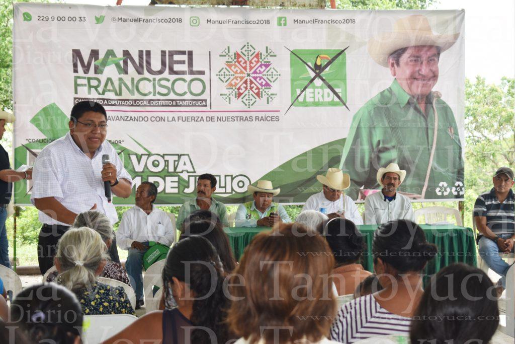 San Antonio Pecero contará con energía eléctrica, la vamos a gestionar: Filemón Zeferino