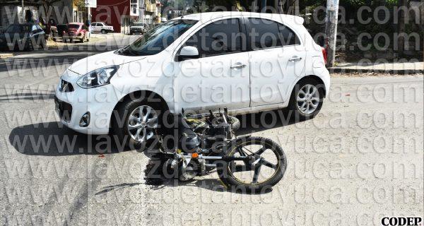 Niño resulta lesionado en accidente vial, en Tantoyuca | LVDT