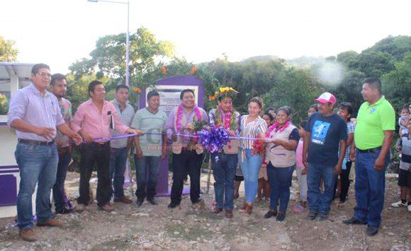 Alcalde inaugura la ampliación del sistema de agua potable en Chamola   LVDT