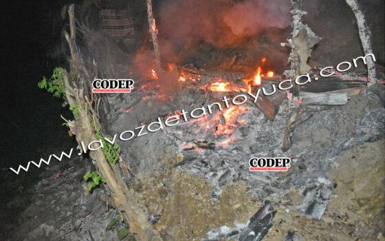 Consume fuego humilde vivienda, en Tantoyuca | LVDT