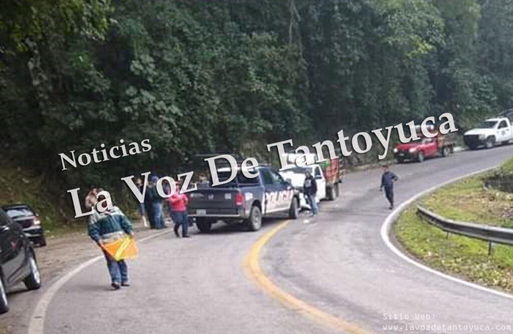 Patrulla se impacta de frente contra camioneta | LVDT