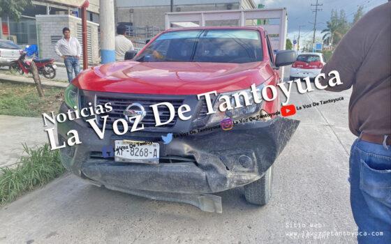 Solo daños materiales deja percance vial en la 10 de Mayo | LVDT