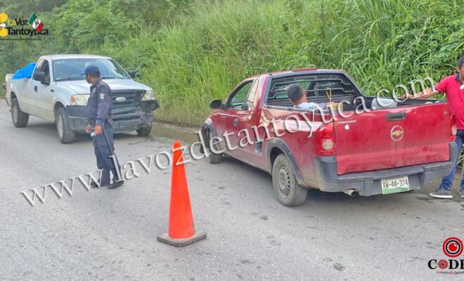Conductor provoca accidente al rebasar sin precaución   LVDT