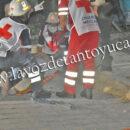 Motociclista resulta lesionado tras derrapar | LVDT