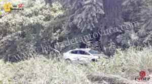 Familia de Tantoyuca sufre aparatoso accidente en Tepetzintla | LVDT