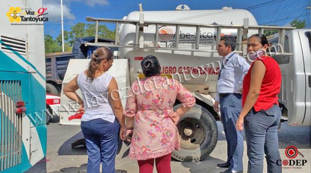 Autobús Conexión provoca percance vial | LVDT