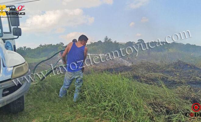 Incendio moviliza a cuerpos de emergencia | LVDT