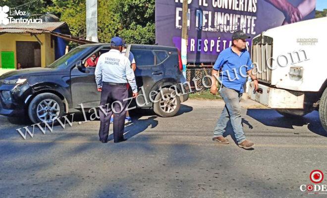 Percance en Tantoyuca deja solo daños materiales | LVDT