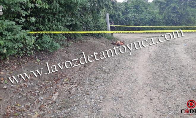 Localizan cuerpo sin vida de un hombre en camino vecinal   LVDT