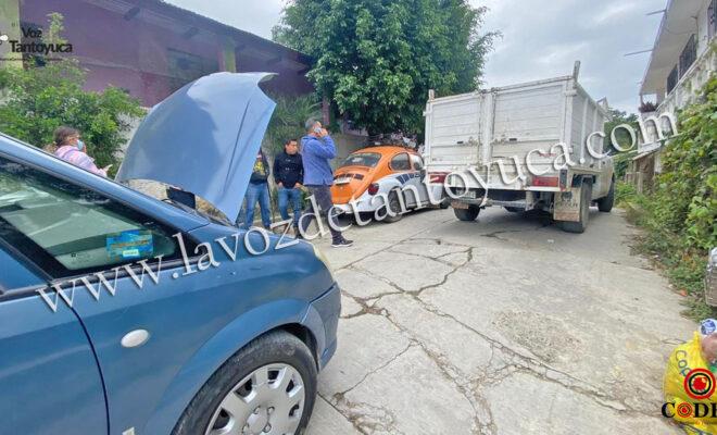 Imprudente conductor provoca percance vial | LVDT