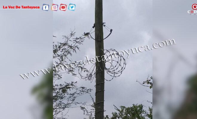 Roban cableado de Telmex en Tlacolula   LVDT