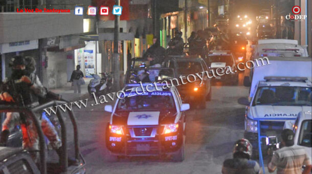 Encabeza Guardia Nacional operativos en Tantoyuca   LVDT