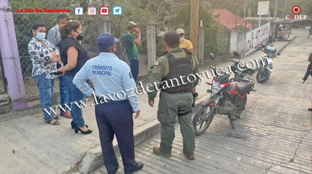 Asegura Fuerza Civil a prepotente motociclista   LVDT
