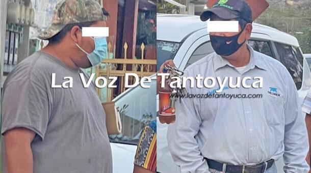 Detienen a padre e hijo con caballo de dudosa procedencia, en Tantoyuca | LVDT