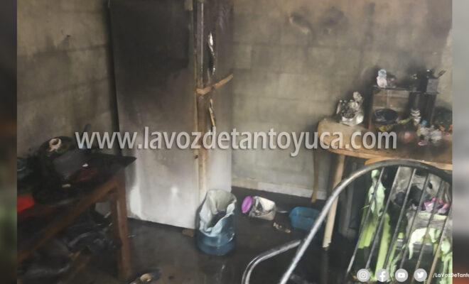 Incendio de vivienda movilizó a cuerpos de emergencia | LVDT
