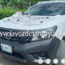 Aseguran camioneta con boletas electorales en Tancoco