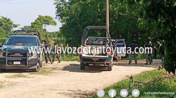 Un herido deja enfrentamiento entre pobladores y elementos de la Fuerza Civil en Remanso