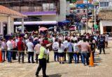 Participan empleados y funcionarios municipales de Chicontepec en simulacro nacional