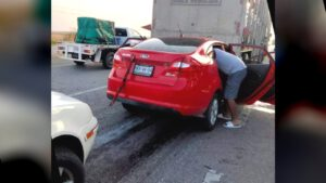 Dos heridos en fuerte accidente