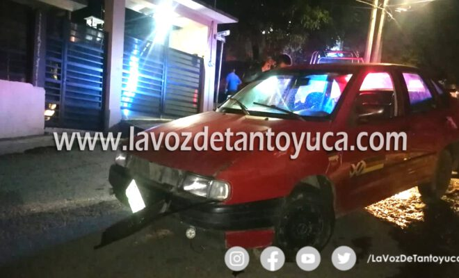 Intervienen a ebrio conductor; vehículo fue asegurado