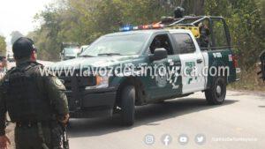 Denuncian retenes arbitrarios de elementos de la Fuerza Civil en Pánuco