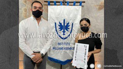 Reconocen al Instituto Williams Keembol como una de las Universidades más prestigiadas en el Norte de Veracruz