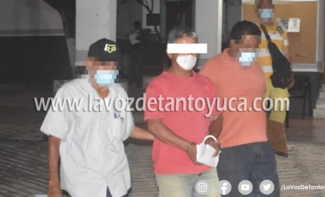 Detienen a sujeto acusado de abusar sexualmente de su propia hija, en Tantoyuca