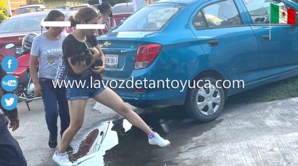 Denuncian a jovenzuelo por agredir a su madre y hermana, en Tantoyuca