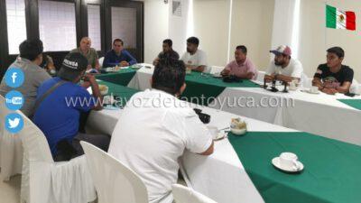 Sostienen CEAPP y Fuerza Civil encuentro con reporteros policiacos de la Huasteca Alta