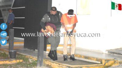 Ingresa al CERESO joven detenido por narcomenudeo, en Tantoyuca