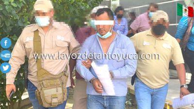Detienen a El Sandias por el delito de homicidio en grado de tentativa