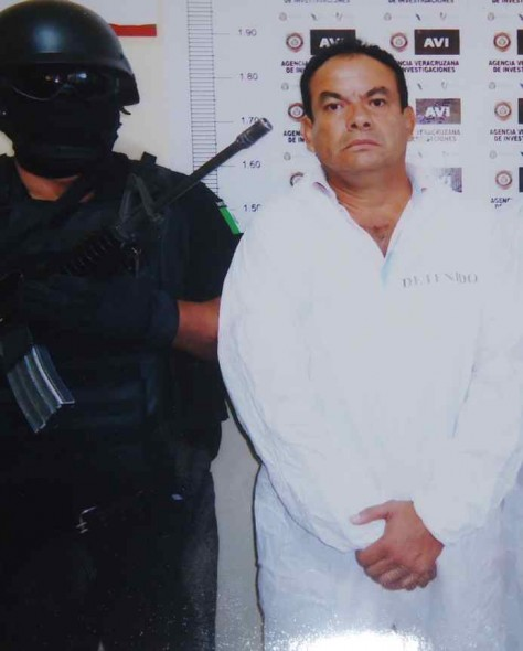 Hector Garcia Sanchez detenido por homicidio