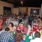 El Alcalde preparó una cena para todos los invitados, después del tradiconal Grito de Independencia.