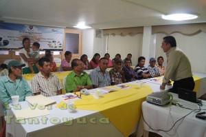La Capacitación fue impartida por instructores egresados de la  escuela Antonio Narro.