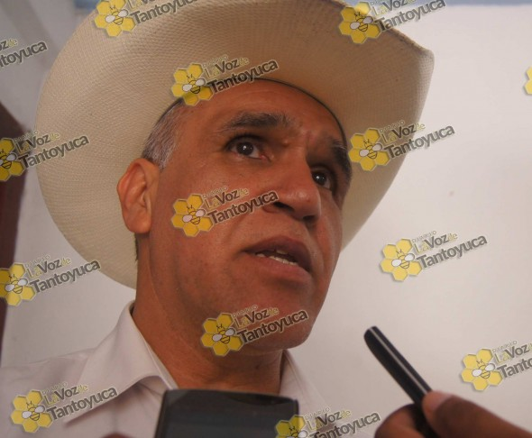 El Prof. Julián Luna García, confirmó la fecha en que realizará su 2do informe de gobierno. Foto: La Voz De Tantoyuca.
