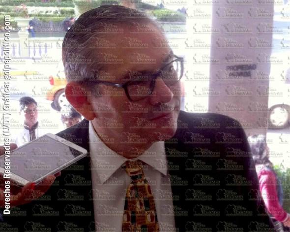 José Carlos Cañas Accar presidente del Colegio de Notarios de Veracruz. Foto: LVDT.