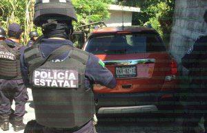 Dos unidades fueron localizadas por los elementos policiacos en el municipio de Gutiérrez Zamora la tarde de ayer Viernes. Foto: LVDT.