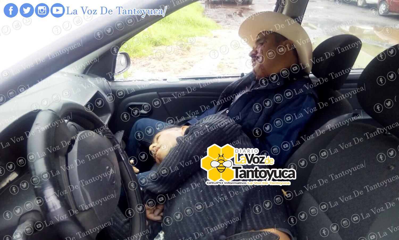 Localizan dos ejecutados dentro de un vehículo. Agencia LVDT.