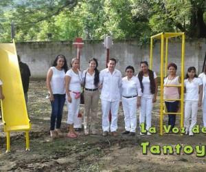 Ayuntamiento de Chalma entrega diversos apoyos a la escuela preescolar Enrique Laubscher