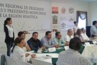 Se reúnen alcaldes de la zona Norte del Estado de Veracruz con delegados federales