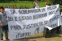 Campesinos levantan la voz; denuncian los abusos que cometen los elementos de la Secretaria de Seguridad Pública del Estado contra los ciudadanos