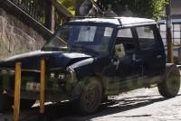 Comerciante ocasiona accidente en la zona centro de Chicontepec, al quedarse sin frenos